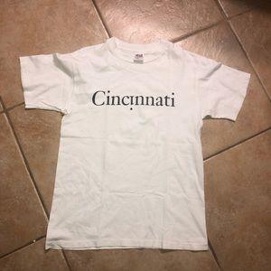 Vintage single stitched Cincinnati shirt